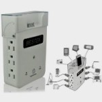 Bestek Wall Charging Station Power Strip with Surge Protector