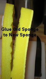 How to fix a sponge mop refill that doesn't fit your mop
