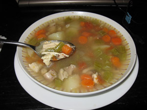 Homemade Chicken Soup - Good For Your Body and Soul