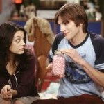 Watch Ashton Kutcher and Mila Kunis Together in Two and a Half Men