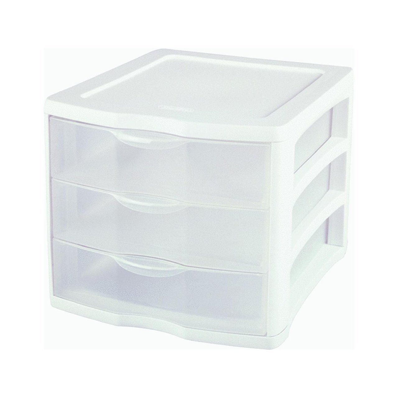 Sterilite 3-Drawer See-Through Organizer - Letter Size