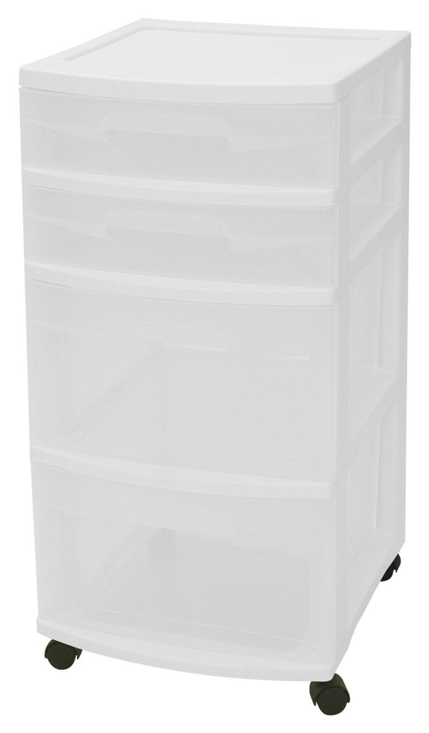 Sterilite 4-Drawer See-Through Storage Unit