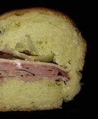 Half of an Italian Sub