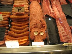 fresh market - ground sausage